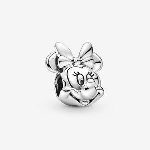 Polished Minnie Mouse Pandora charm